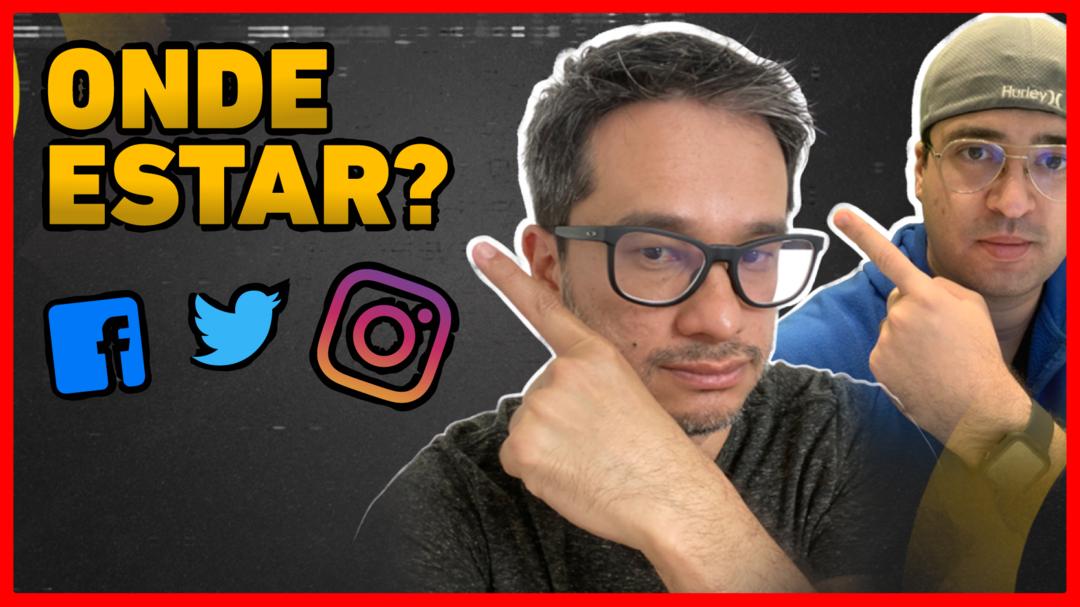 Em qual mídia social eu devo estar?