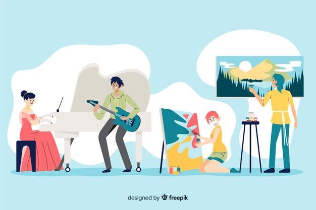 A adaptação dos artistas