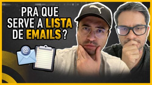 O que é Lista de Emails e para que serve?